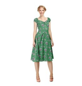 Collectif Dolores Clashing Floral Dress