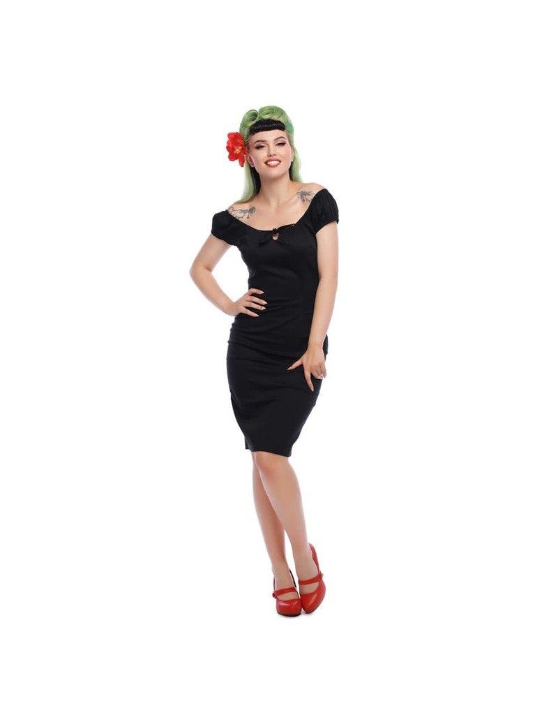 Collectif Lorena Plain Pencil Dress