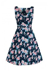 Collectif Hepburn Pretty Floral Swing Dress