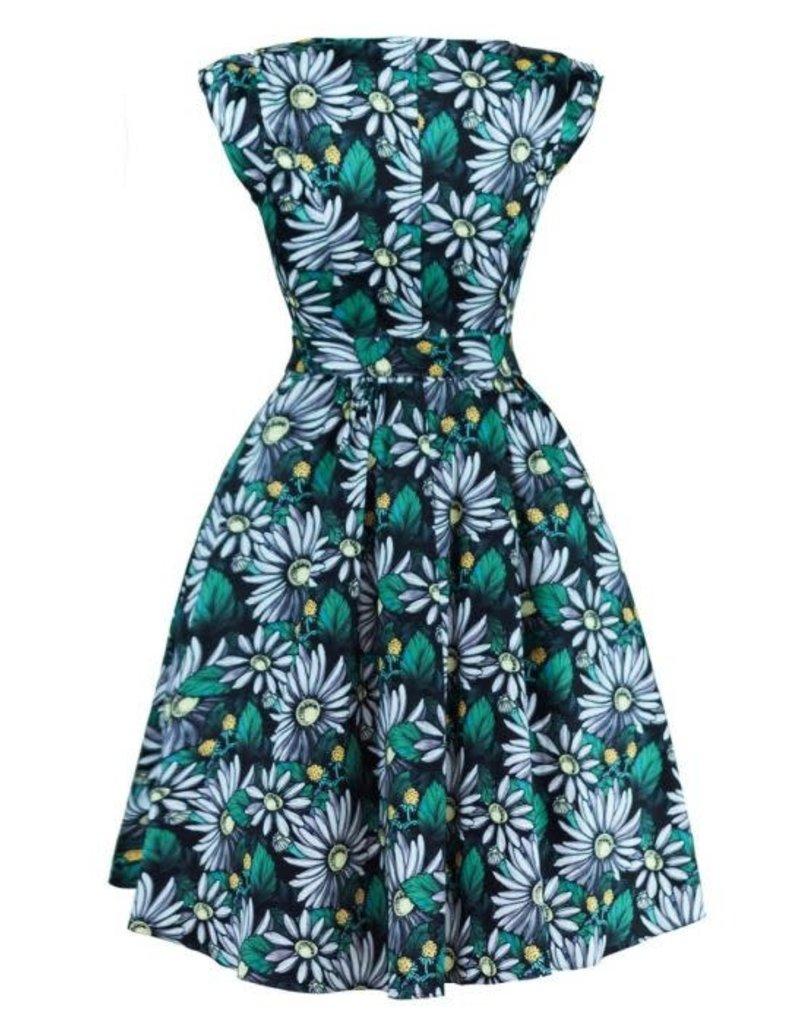 Lady V Swing Dress - Deep Forest