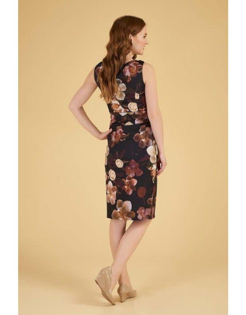 Lady V Jocelyn-jurk - Caramel Lunaria