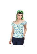 Collectif Dolores Top - Blueberries