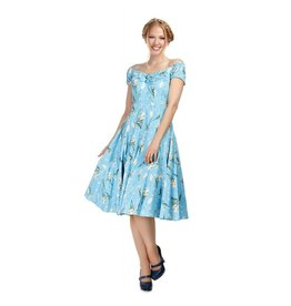 Collectif Dolores Wild Garden Doll Dress