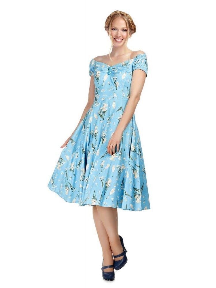 Collectif Dolores Wild Garden Doll Dress