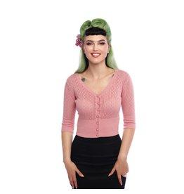 Collectif Linda Cardigan Pink