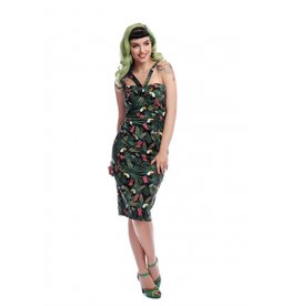 Collectif Kiana Tropicalia Pencil Dress
