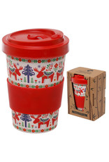Scandinavian Design Bamboo Travel Mug