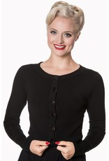 Banned Dolly Cardigan - Black