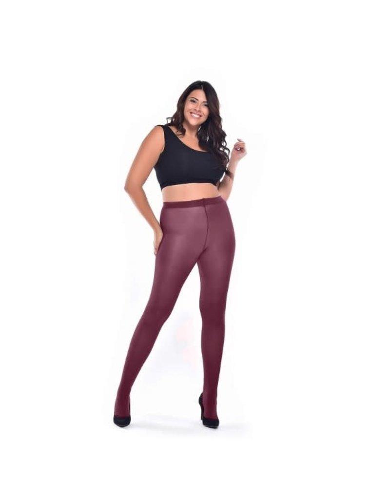 Pamela Mann 50 Denier Curvy Super Stretch Tights Damson