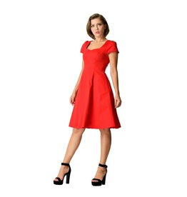 Dolly & Dotty Claudia Dress in Red