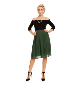 Dolly & Dotty Marjorie Skirt in Dark Green