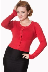 Banned Dolly Cardigan - Red