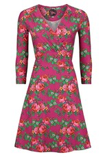 Tante Betsy Dress Swirley Bouquet Pink