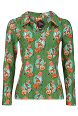 Tante Betsy Shirt Nellie Kitschy Deer Green