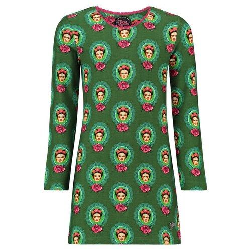Tante Betsy KIDS Dress Mini Frida Green