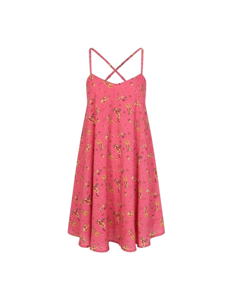 Bright & Beautiful Chess Meadow Floral Dress