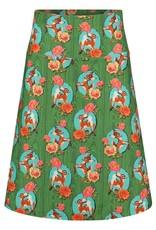 Tante Betsy Skirt Kitschy Deer Green