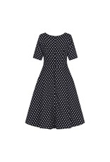 Collectif Amber Polka Dot Swing Dress