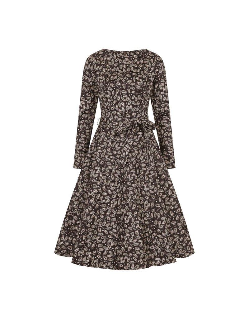 Collectif Arwen Autumn Falls Swing Dress