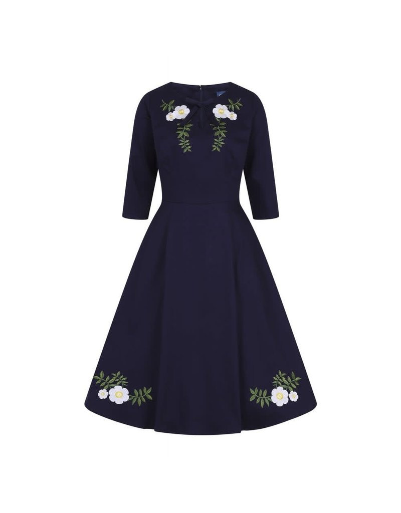 Collectif Rossella Camelia Swing Dress