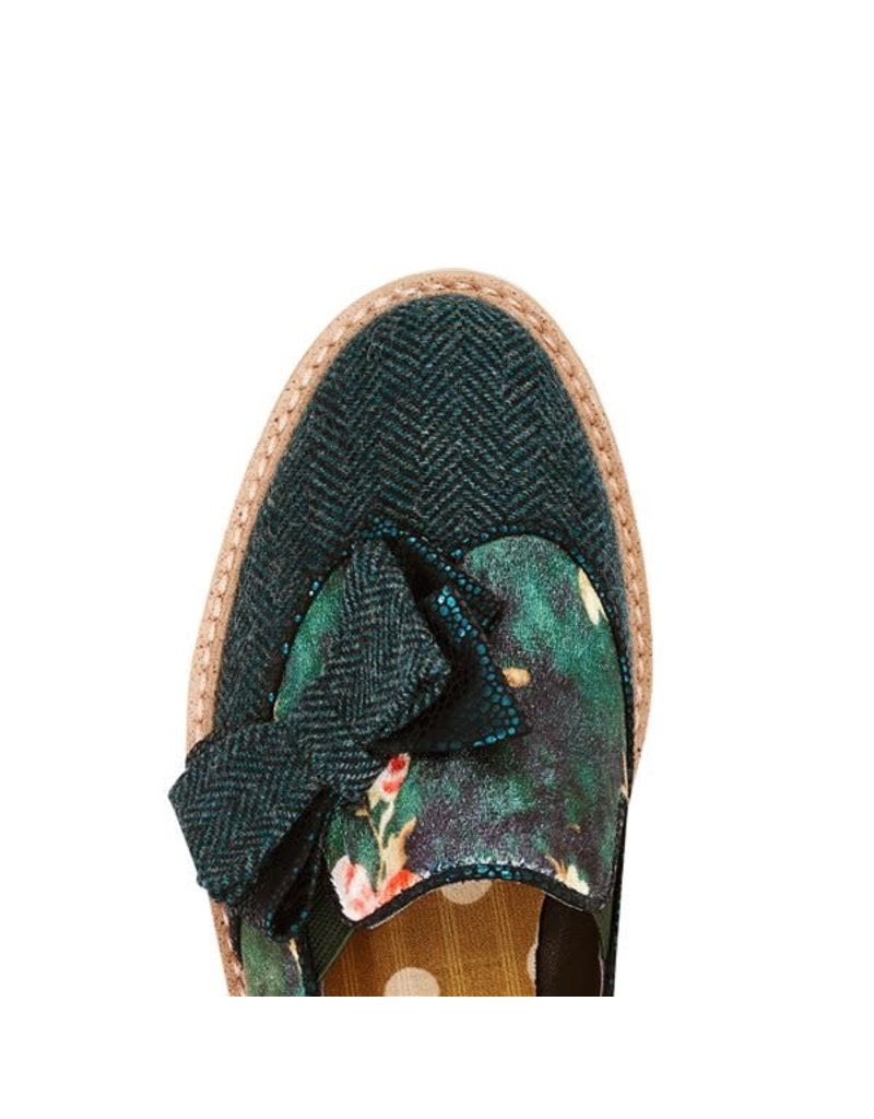 Ruby Shoo Joanne - green brogues