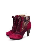 Ruby Shoo Peri - Bordeaux boots