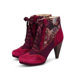 Ruby Shoo Peri - Bordeaux laarzen