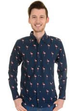 Run & Fly Flamingo Shirt long sleeves