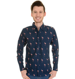 Run & Fly Flamingo Shirt long sleeves