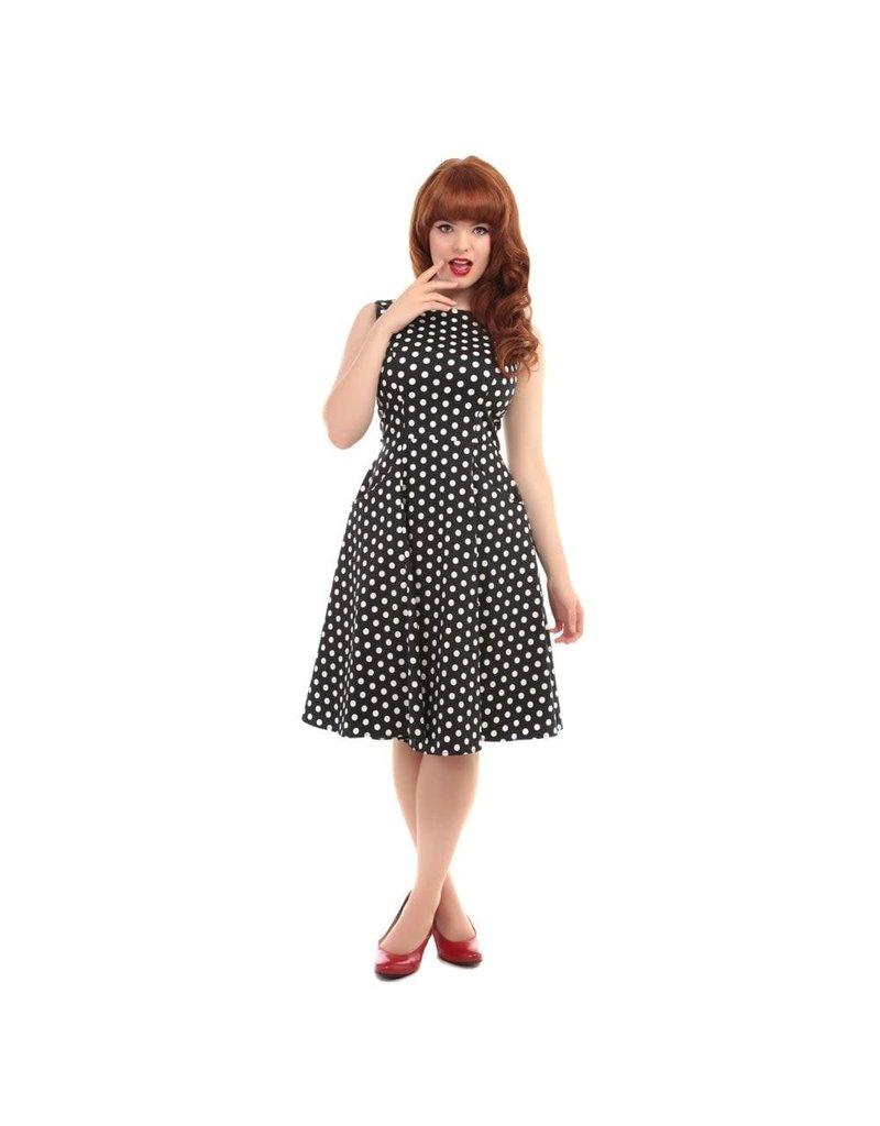 Collectif Hepburn Polka Dot Dress