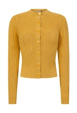 Banned Midnight Daze Cardigan - mustard