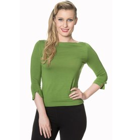Banned Modern Love Top - meadow green