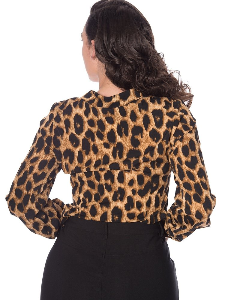 Banned Leopard Lady Blouse