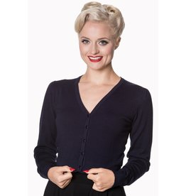 Banned Little Luxury Cardigan - dark blue
