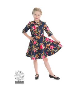 Hearts & Roses KIDS Autumn Afternoon Dress