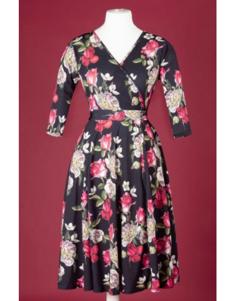 Lady V Lyra Dress - Romeo's Rose