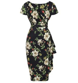 Lady V Elsie Dress - Autumn Floral