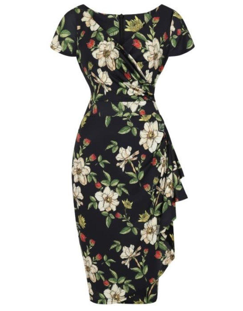 Lady V Elsie Dress - Autumn Floral