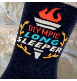 Blue Q Olympic Long sleeper - mens socks