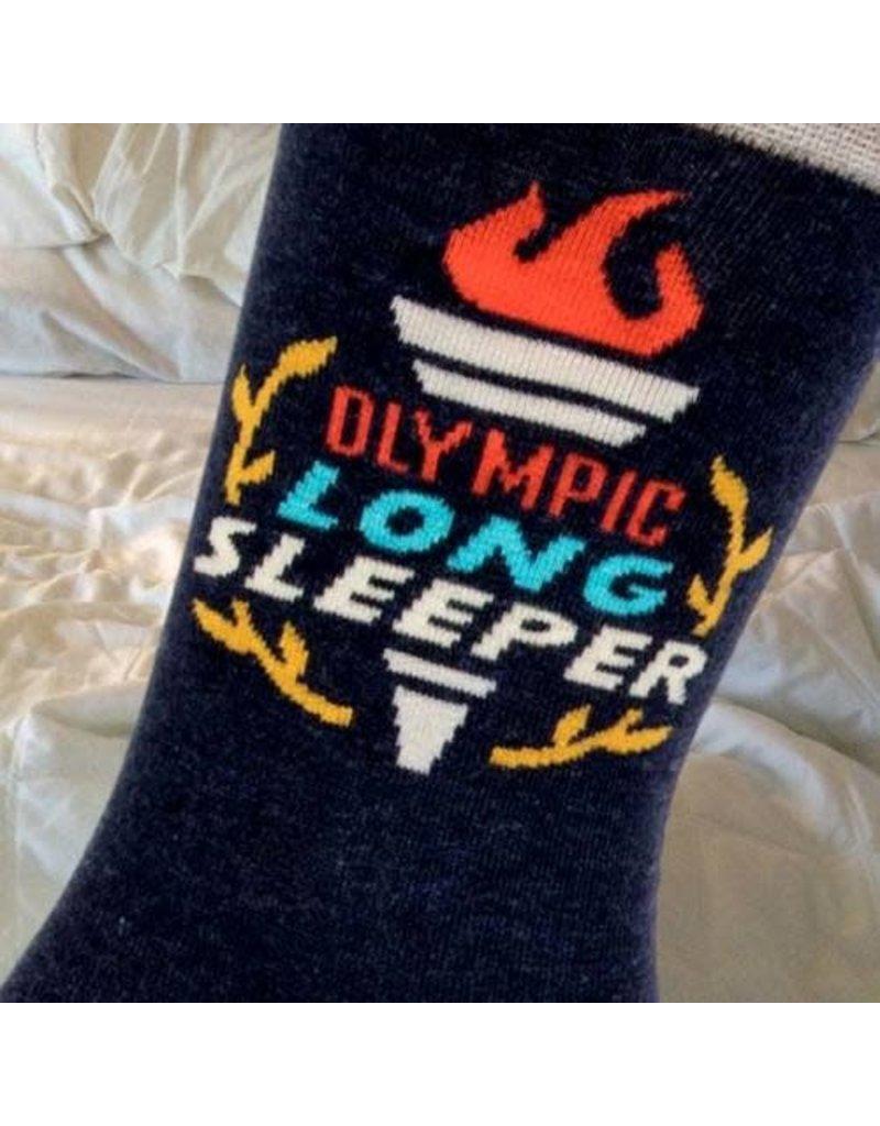 Blue Q Olympic Long sleeper - mens socks