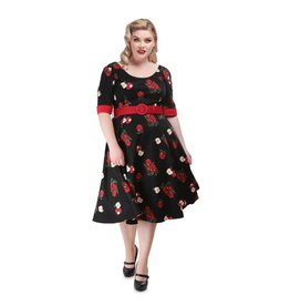 Collectif June Apple Swing Dress