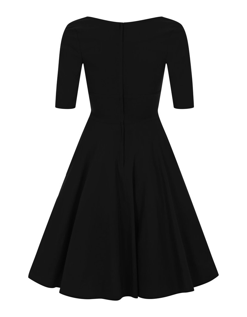 Collectif Trixie Doll Dress - black