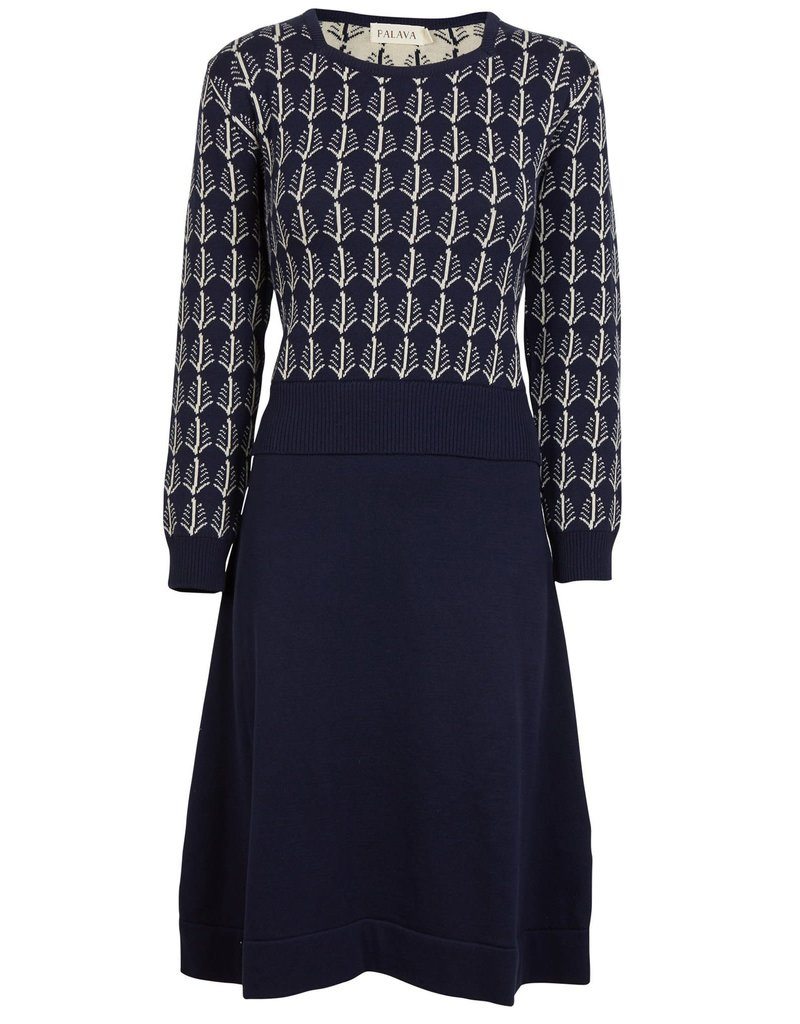 Palava Otti Knitted dress - Feathers