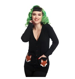 Collectif Sydney Foxy Cardigan