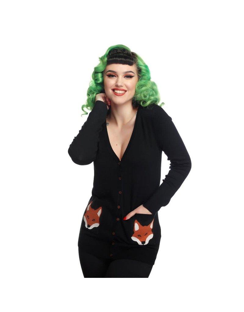 Collectif Sydney Foxy Cardigan