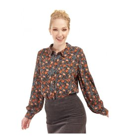 Bright & Beautiful Zelda Wallpaper Floral Shirt