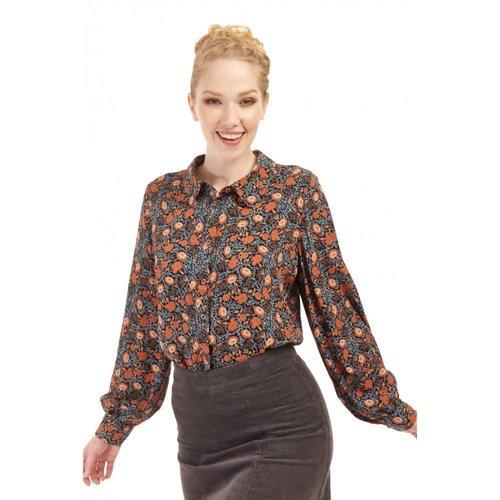 Bright & Beautiful Zelda Wallpaper Floral Shirt