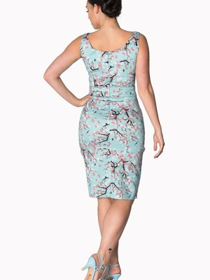 Banned Oriental Blossom wiggle dress
