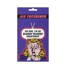 Klang und Kleid Air Freshener - So blonde
