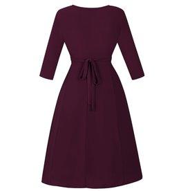 Lady V Lyra Dress - Plum 4XL/5XL